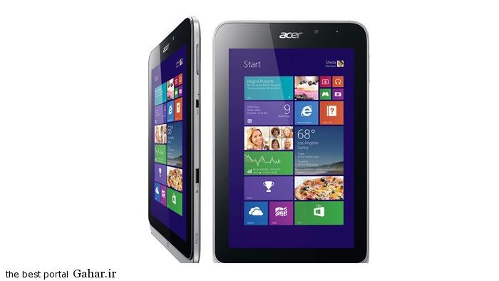 Acer Iconia W4 تبلت های با قیمت زیر 700 هزار تومان / عکس + مشخصات