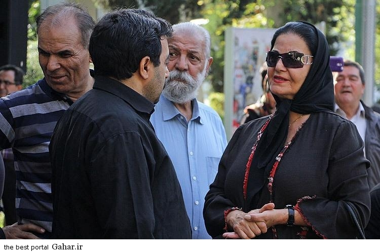 Bazigaran Marasem Homa5 عکس های بازیگران در مراسم تشییع هما روستا