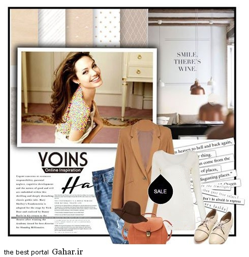 anjelina fall 03 مدل های جدید ست لباس پاییزی آنجلینا جولی