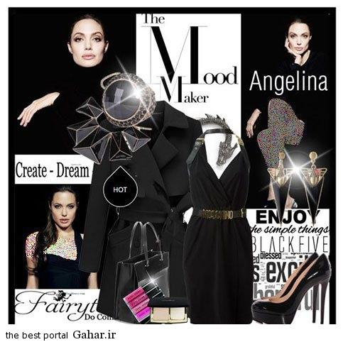 anjelina fall 08 مدل های جدید ست لباس پاییزی آنجلینا جولی
