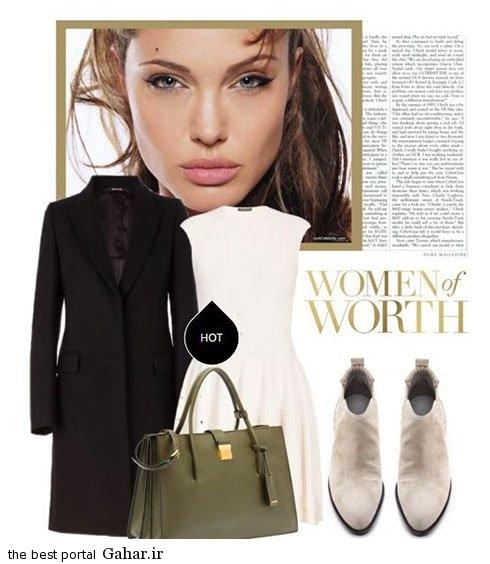 anjelina fall 09 مدل های جدید ست لباس پاییزی آنجلینا جولی