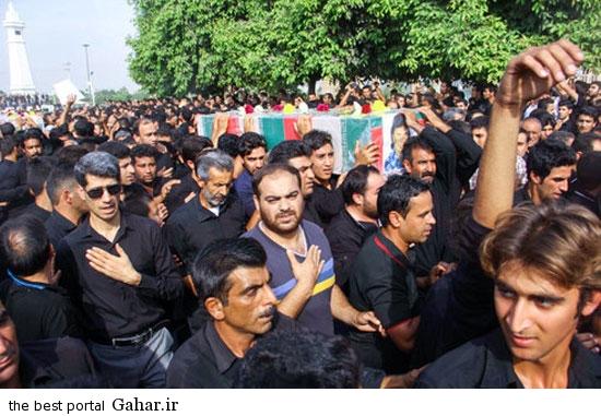 dezfool khaksepari 3 عکسهای مراسم خاکسپاری شهدای تیراندازی حسینیه صفی اباد