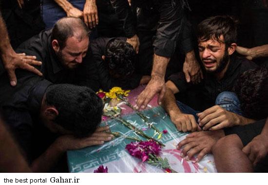 dezfool khaksepari 6 عکسهای مراسم خاکسپاری شهدای تیراندازی حسینیه صفی اباد