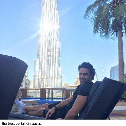 farhad majidi dubi تفریح فرهاد مجیدی در دوبی وتماشای دربی