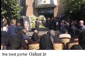 homa برگزاری مراسم تشییع پیکر هما روستا با حضور چهره ها
