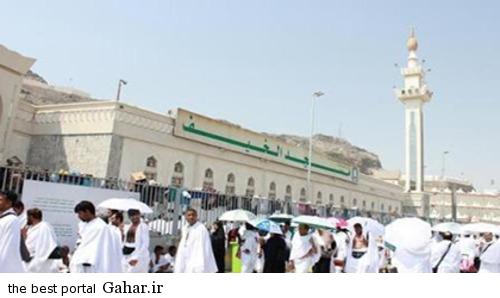 masjed 2 عکس مسجدی در منا که 70 پیامبر در آن نماز خوانده اند
