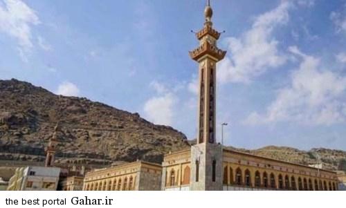 masjed 3 عکس مسجدی در منا که 70 پیامبر در آن نماز خوانده اند