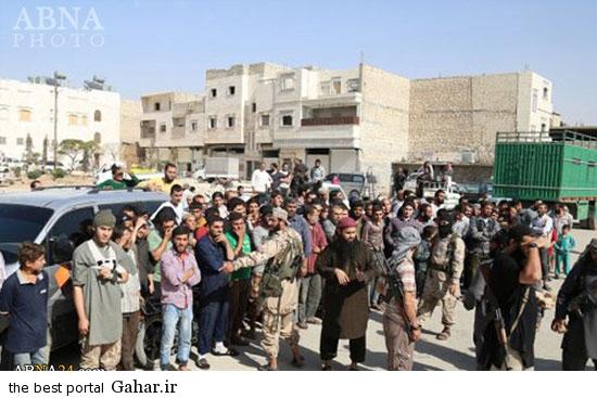 mojazat daesh 1 عکس ; مجازات کردن دو جوان سوری توسط داعش