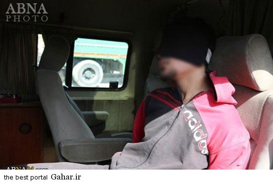 mojazat daesh3 عکس ; مجازات کردن دو جوان سوری توسط داعش