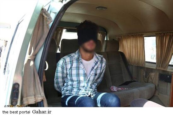 mojazat daesh4 عکس ; مجازات کردن دو جوان سوری توسط داعش