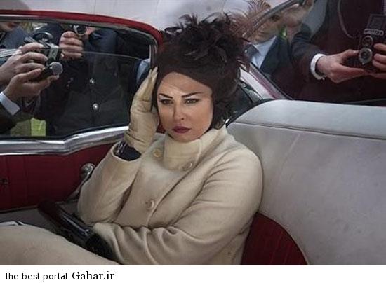 shah1 عکس های همسران شاه در سریال معمای شاه
