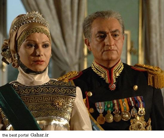 shah3 عکس های همسران شاه در سریال معمای شاه