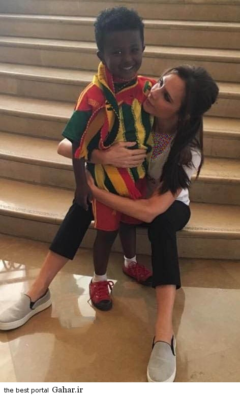victoriabeckham3 copy عکس های جدید ویکتوریا بکهام در در کنار کودکان اتیوپی