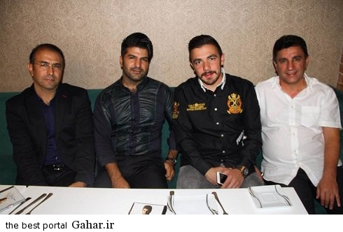 volleyball internationals1 والیبالیست های ایران و مجید خراطها در رستوران قلعه نویی