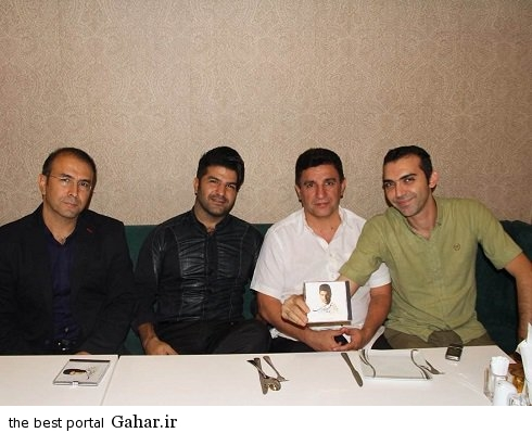 volleyball internationals2 والیبالیست های ایران و مجید خراطها در رستوران قلعه نویی