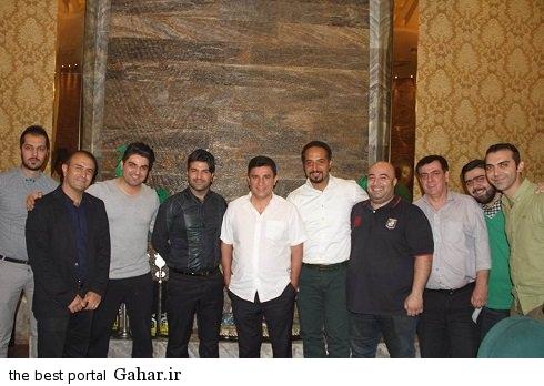 volleyball internationals4 والیبالیست های ایران و مجید خراطها در رستوران قلعه نویی