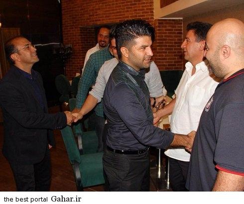 volleyball internationals5 والیبالیست های ایران و مجید خراطها در رستوران قلعه نویی