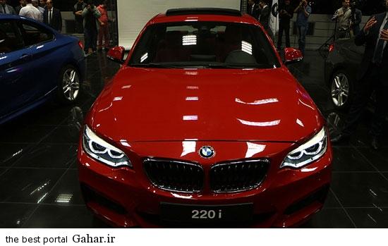 BMW1 رونمایی از بی ام دبلیو مدل 220i کوپه شرکت پرشیا