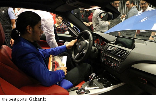 BMW9 رونمایی از بی ام دبلیو مدل 220i کوپه شرکت پرشیا