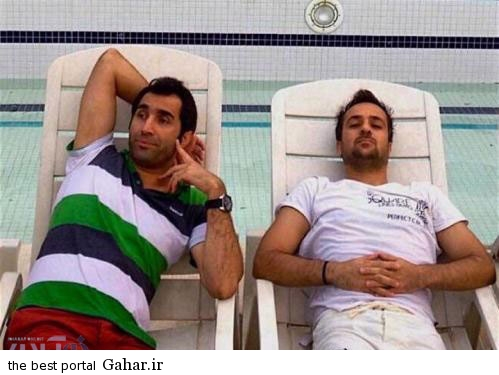 Hadi kazemi تبریک گفتن جالب احمد مهرانفر به هادی کاظمی