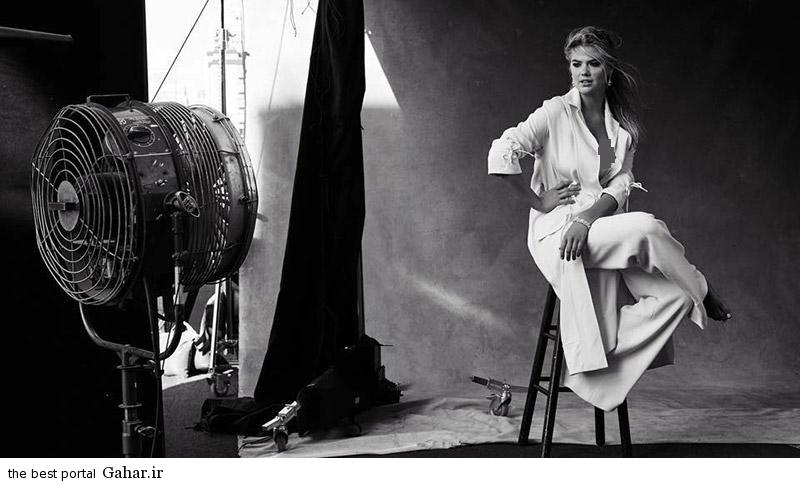 Kate Upton Harpers1 عکس های جذاب کیت آپتون در مجله Harpers Bazaar
