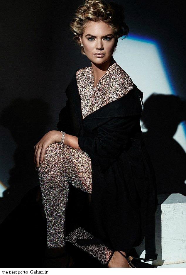 Kate Upton Harpers2 عکس های جذاب کیت آپتون در مجله Harpers Bazaar