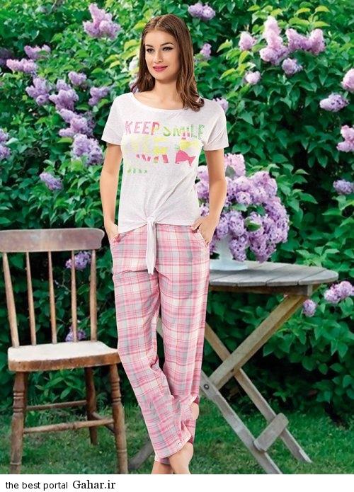 Lebas Rahati 2016 1 شیک ترین مدل لباس راحتی دخترانه 2016