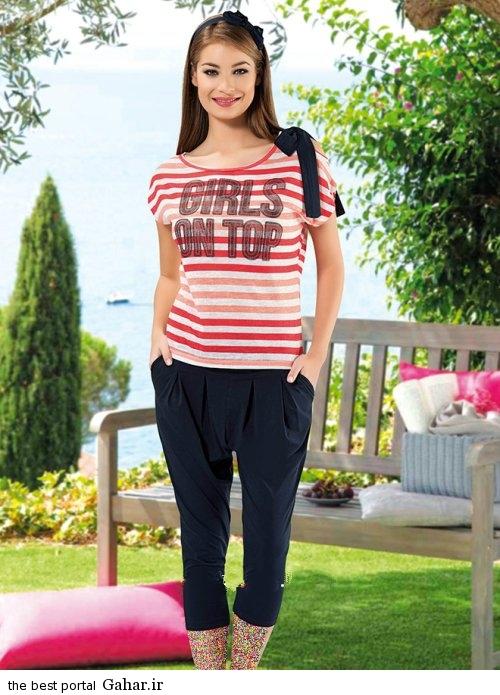 Lebas Rahati 2016 6 شیک ترین مدل لباس راحتی دخترانه 2016