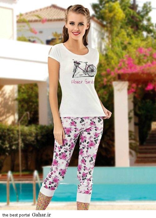 Lebas Rahati 2016 9 شیک ترین مدل لباس راحتی دخترانه 2016