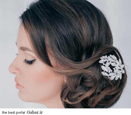 Shinion Aroos10. شیک ترین مدل مو عروس مخصوص سال 2016