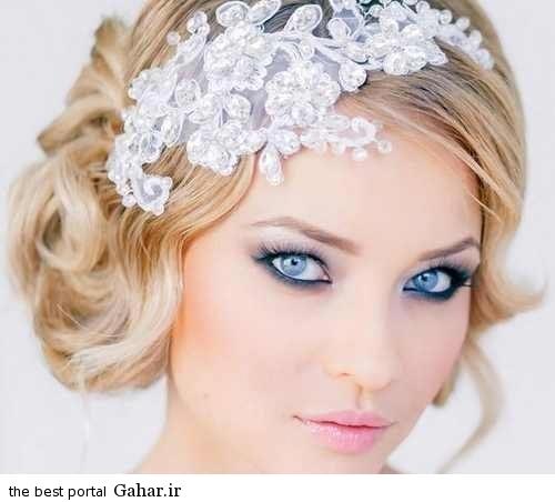 Shinion Aroos8. شیک ترین مدل مو عروس مخصوص سال 2016