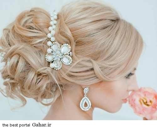 Shinion Aroos9. شیک ترین مدل مو عروس مخصوص سال 2016