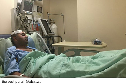 behnam مرخص شدن بهنام صفوی از بیمارستان