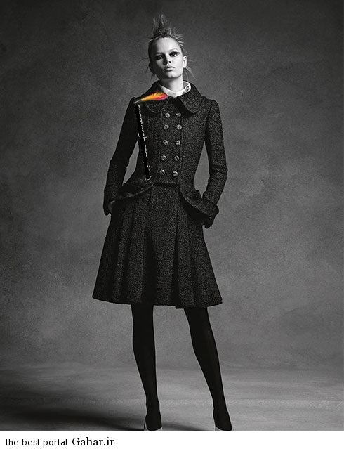 chanle cloth 2015 12 مدل جدید لباس های برند شنل chanel پاییز و زمستان 2015
