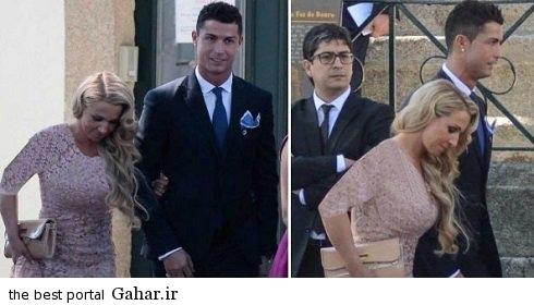 cristiano ronaldo became engaged to the daughter of his agent نامزدی کریس رونالدو با دختر مدیر برنامه هایش