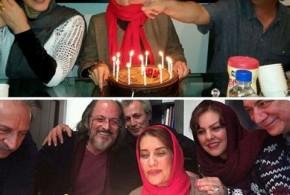 عکس های جشن تولد فریبا کوثری