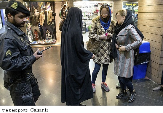 gasht ershad in tehran 10 گشت ارشاد در تهران دوباره کارش را شروع کرد / عکس