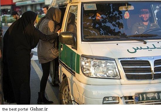 gasht ershad in tehran 11 گشت ارشاد در تهران دوباره کارش را شروع کرد / عکس