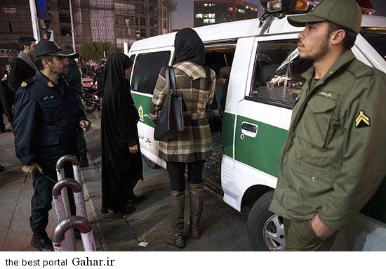 gasht ershad in tehran 2 گشت ارشاد در تهران دوباره کارش را شروع کرد / عکس