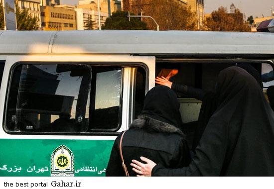 gasht ershad in tehran 3 گشت ارشاد در تهران دوباره کارش را شروع کرد / عکس
