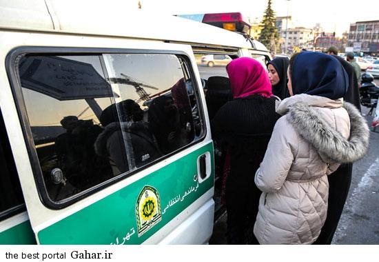 gasht ershad in tehran 5 گشت ارشاد در تهران دوباره کارش را شروع کرد / عکس