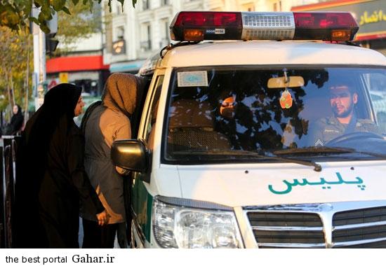 gasht ershad in tehran 6 گشت ارشاد در تهران دوباره کارش را شروع کرد / عکس