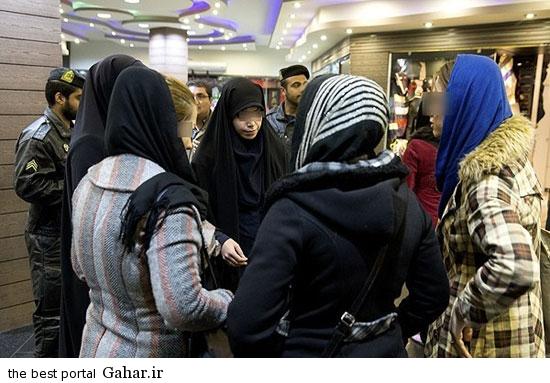 gasht ershad in tehran 8 گشت ارشاد در تهران دوباره کارش را شروع کرد / عکس
