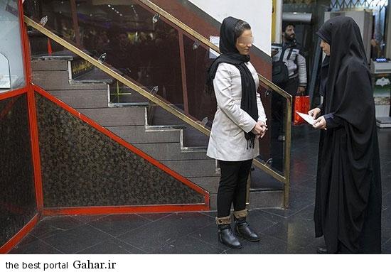 gasht ershad in tehran 9 گشت ارشاد در تهران دوباره کارش را شروع کرد / عکس
