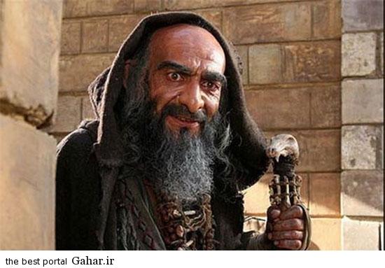 greem11 عکس های دیدنی از گریم های جالب بازیگران ایرانی