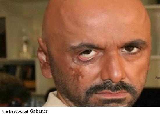 greem3 عکس های دیدنی از گریم های جالب بازیگران ایرانی