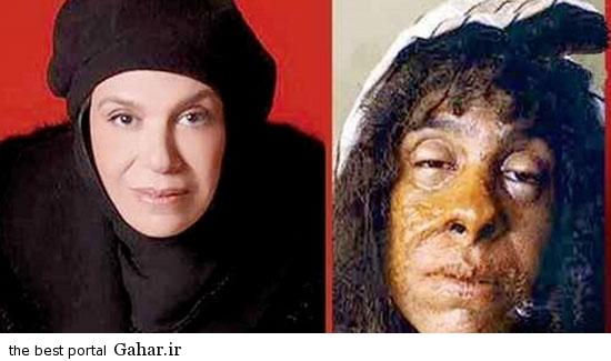 greem9 عکس های دیدنی از گریم های جالب بازیگران ایرانی