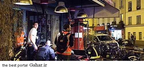 hamle paris 2 فیلم و عکس حمله داعش به پاریس فرانسه در سالن حین بازی فرانسه و آلمان