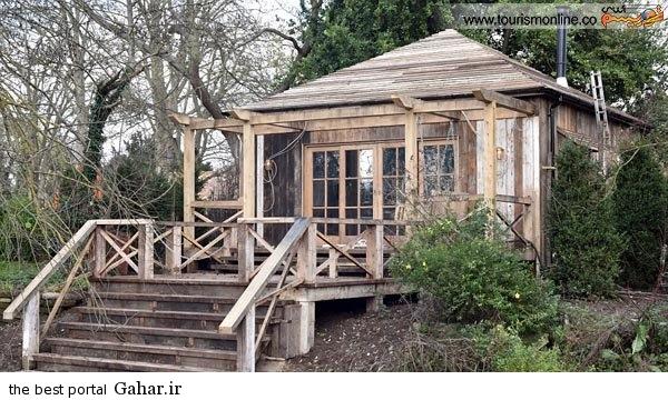 keloni3 عکس هایی از خانه چوبی جرج کلونی و همسرش