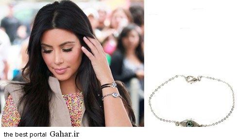 kimkardashianbraclate03 کلکسیون دستبندهای کیم کارداشیان در مراسم مختلف
